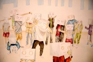 The Box People by ht