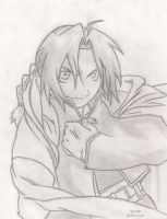 Full Metal Alchemist_Edward El by ninja4354