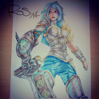 Riven_League of Legend by rose-92