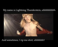 It's Lightning Thunderstein by KotomiMaya