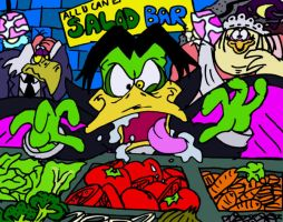 The Feasting of Duckula by mightyfilm
