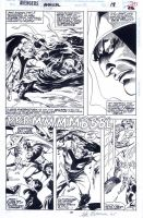 Buscema Avengers Page by johnsonverse