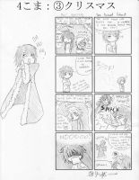 4koma- Christmas 3 by ItaLuv