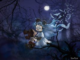Pinocchio and Blue Fairy by twisted-wind