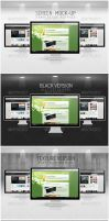 Screen - Mock-Up by DOMDESIGN