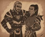 Keldr and Vytalas by SlayerSyrena
