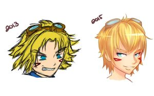 2 Years Difference (Ezreal) by KittyConQueso