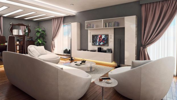 another living room by erenminareci