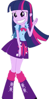 Vector - EqG Twilight by JustinKWork