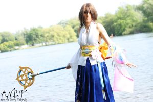 Final Fantasy X: Yuna #2 by AilesNoir