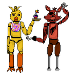 Chica X Foxy  by knightrider146