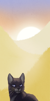 WindClan Bookmark: Golden Moors by ashkey