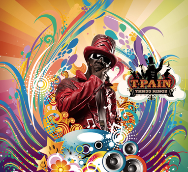 T-pain Poster by GozieX