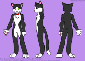 Mister The Cat - Base Ref by Jadey-The-Shadow