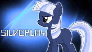 Silverlay Wallpaper (Lightshow) by NovellaMLP