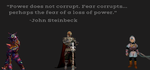Power does not corrupt. by scriptureofthescribe