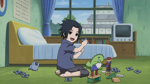 little Sasuke by NaruTwilight