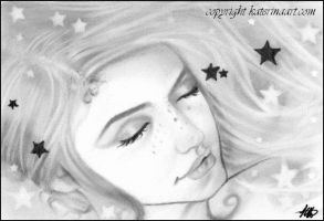 To Dream Among  The Stars Sketch by Katerina-Art