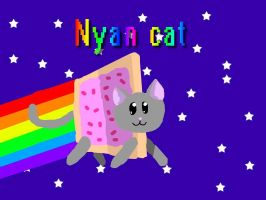 Nyan Cat by ElodieTheFox051400