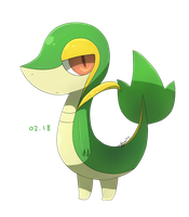 Snivy Day by teuga
