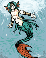 :+: Merman :+: by Endless-warr