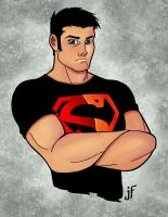 superboy r.i.p. colored by JamieFayX