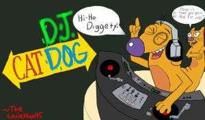 DJ Dog by TheLeviathan45