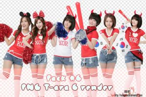 Pack #6 - T-ara Render by rankagome52