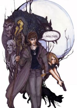 The Dresden Files by zirofax