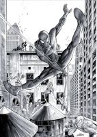 Spider Man - Commission by JacksonHerbert