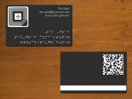 Omni Info Business Card by naca0012