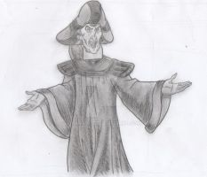 Frollo - Like a Boss! (Shadowed Concept Art) by yami0815