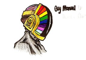 Guy Manuel- Daft Punk by sheepscoot