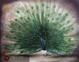 Peacock - The Golden Oath by Lachrymal-Nocturne
