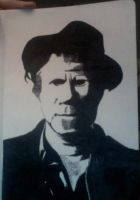 Tom Waits by kidcasanova