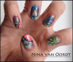 The Patterns nails by Ninails