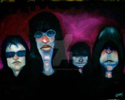 The Ramones by JaimeMArtist