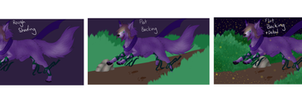 .:Progress:. On The Wing by AicaraTheWolf