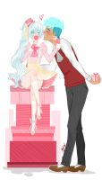 RWBY (Neiss): No Sweeter Gift Than Your Kiss by LilFloralGirl