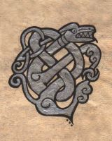 Celtic Dragon by animosus-liberatio