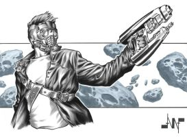Star-Lord by AlbertoNavajo