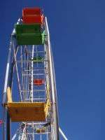 Colorful Ferris Wheel by plutoplus1
