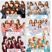 090614 Share Big Pack Renders Ulzzang by CeCeKen2000
