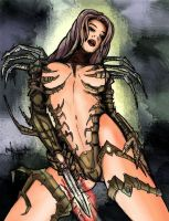 Witchblade Colored by GeoPhreak