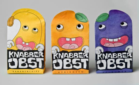 package design for dried fruit by Lyne86