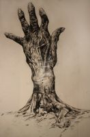 Hand Tree by KateFields