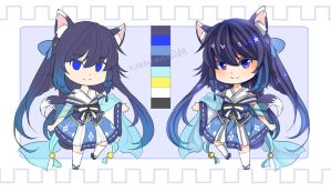 [CLOSED] Auction 01: Wolf girl by kirabunni