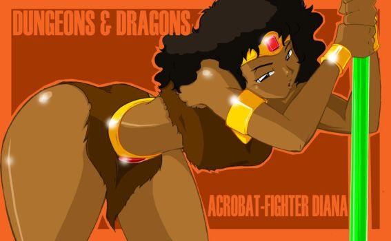 Dirty Diana of D and D by ShoNuff44