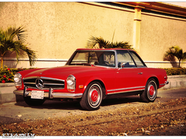 1971 Mercedes Benz 280 SL by KINGTEAM