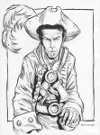 Pirate Tom Waits commission 2013 by TessFowler